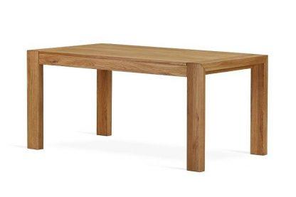 Nowoczesny rozkładany stół dębowy lorens / 160x90 cm + 70 cm