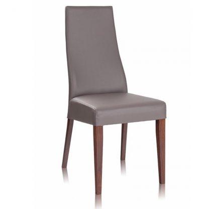 Antonia krzesło bukowe tapicerowane w nowoczesnym stylu