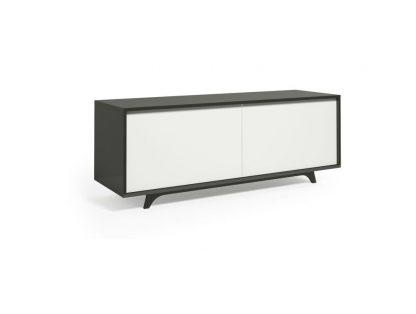 Nowoczesna komoda krood steel white / szer. 160 cm