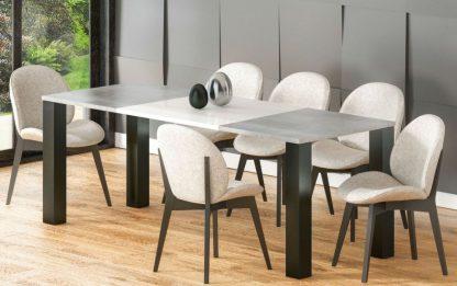 Nowoczesny rozkładany stół juka / 130-175 cm
