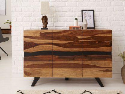 Nowoczesna komoda amazonas z drewna palisandru / szer. 150 cm