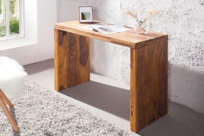 Drewniane biurko makassar (100 cm)
