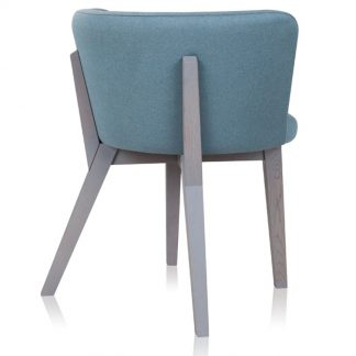 Krzesło tapicerowane siro w nowoczesnym stylu