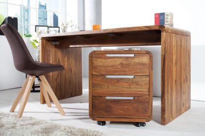 Drewniane biurko goa (150 cm)