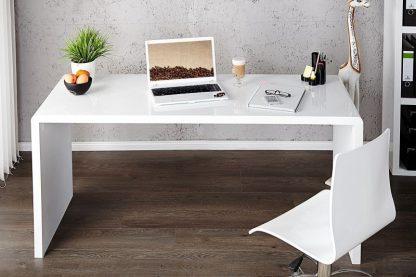 Białe biurko fast trade (140 cm)