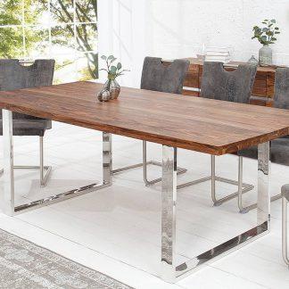 Drewniany stół fire&earth 200x100 cm